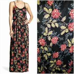 {Lush} Floral Maxi Dress